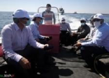 بازدید از پروژه پرورش ماهی و حمایت و همکاری دو جانبه جهاددانشگاهی و منطقه آزاد کیش در حوزه ی پرورش ماهی؛