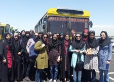بازدید دانشجویان دانشگاه صنعتی امیرکبیر از بیست و نهمین نمایشگاه بین المللی کتاب تهران