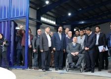 مراسم افتتاحیه کارخانه تولید تورهای قفس پرورش ماهی