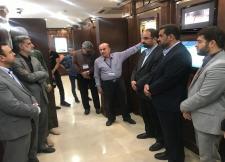 بازدید دانشگاهیان امیرکبیر از موزه صلح تهران در هفته دفاع مقدس