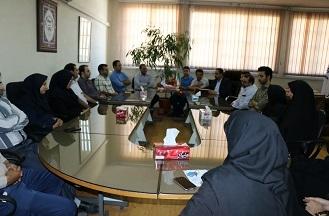 برگزاری مراسم تقدیر از جهادگران نمونه واحد صنعتی امیرکبیر
